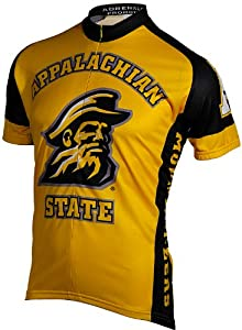 NCAA Mens Appalachian State Mountaineers Cycling Jersey by Adrenaline Promotions
