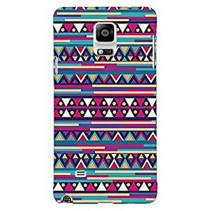Jugaaduu Aztec Girly Tribal Back Cover Case For Samsung Galaxy Note 4