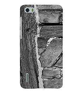 PrintVisa Wooden Design 3D Hard Polycarbonate Designer Back Case Cover for Huawei Honor 6