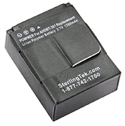 STK's GoPro HERO 3 Hero 3+ Battery - 1200 mAH from STK/SterlingTek