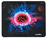 Mouse Pad Sentey® Psyched Surface 11.22 X 8.85 Inch (Small Size) Gs-2312 / 4mm Thick / Support Wired Wireless or Bluetooth Mouse and Gaming Mouse - Gaming Surface / Edge-style Overlock / Non-slip Eco Rubber Base / Medium Friction Level / 100 % Polyester / Compatible Any Dpi Speed and Any Optical Laser Mice Gamer or Desktop - Razer Mouse As Naga or Deathadder and Logitech Mouse Compatible - Color Match Any Gaming Headset Keyboard Mouse Pc M510 G930 M570 M305 M310 G600 G502 G510 Mx518 Gamer Surface - Any DPI Speed - Mouse Mat - Gaming Laptop Mouse and Pc Desktop Are Accepted
