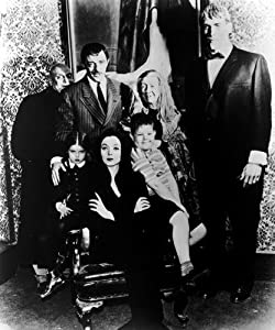Addams Family Tv Poster Bw 24x36 from Posters