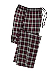 Hanes Mens Cotton Flannel Lounge Pajama Pants