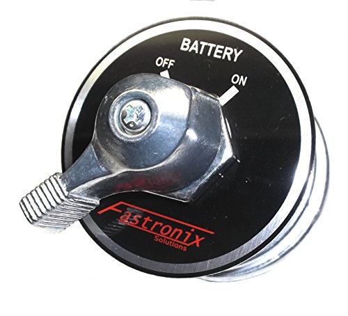 Fastronix High Current Master Battery Disconnect Switch with Face Plate (Automotive Battery Switch compare prices)