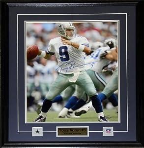 Tony Romo Dallas Cowboys Signed 16x20 frame by Midway Memorabilia