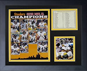 Legends Never Die 2005 Pittsburgh Steelers Framed Photo Collage, 11x14-Inch by Legends Never Die