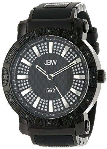 JBW Reloj con movimiento cuarzo suizo