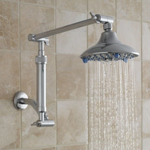 Sprite Industries Rain Shower Spa-like Shower Up Waterfall Filter FXD-CM-P6 (Removes Chlorine) Gaiam Exclusive!