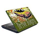 MeSleep Drive Angry Laptop Skin