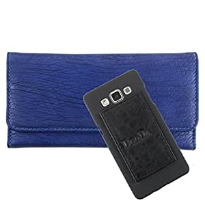 DooDa PU Leather Wallet Flip Case Cover With Card & ID Slots For Nokia Asha 305
