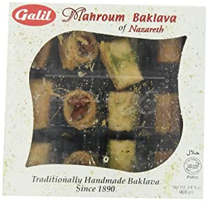 Galil Assorted Baklava, 400-Grams (Pack of 3)