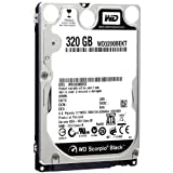 Western Digital 320 GB Scorpio Black SATA 3 Gb/s 7200 RPM 16 MB Cache Bulk/OEM Notebook Hard Drive - WD3200BEKT