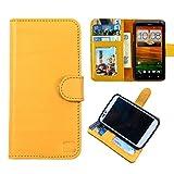 Dooda Genuine Leather Wallet Flip Case For Nokia Lumia 1020 (YELLOW)