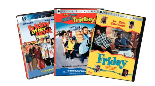 Friday Collection (Friday / Next Friday / Friday After Next) (Friday Movie Ice Cube compare prices)