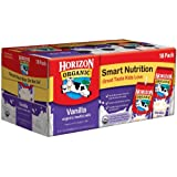 Horizon Organic Milk Low Fat 1% DHA Omega3, Vanilla At least 95% Organic 3/6/8floz