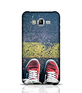 Samsung Galaxy J5 Phone Case for Behind The Yellow Line Back Cover for Galaxy J5 Multicolor