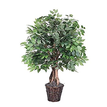 Vickerman TXX0140 TXX0140 Everyday Ficus Bush, Green Dark, 4