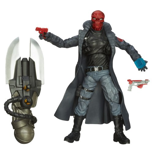 Captain America Marvel Legends Agents of Hydra Figure Red Skull, 6 Inch