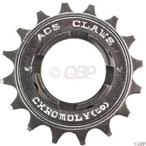 ACS 18t X 3/32-Inch Claws FreeWheel, Chrome