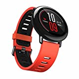 For Xiaomi Huami Amazfit A1602,GBSELL Fashion Sports Silicone Bracelet Strap Band (Red)