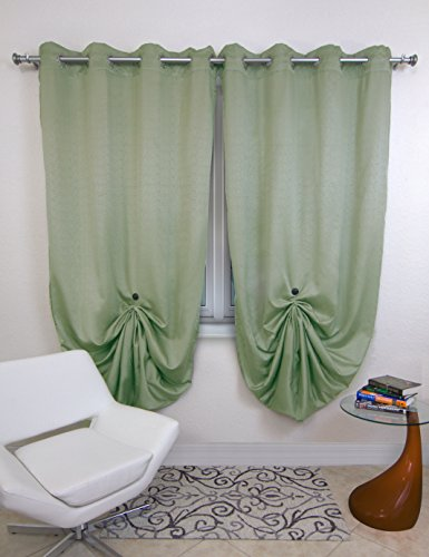 Curtains with clips