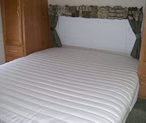 Amazon.com: Short Queen Mattress Pad Mattress Cover for