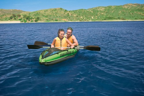 Intex Challenger K2 Kayak - Green/Black