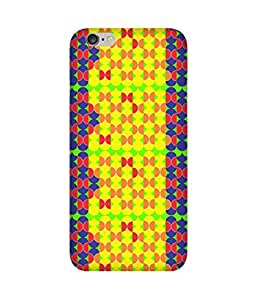 Stripes And Elephant Print-81 Apple iPhone 6 Case