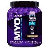 Myoplex Proteina de recuperación en polvo EAS, 2.7 libras, sabor chocolate