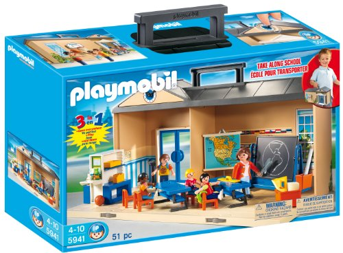 PLAYMOBIL-Take-Along-School-Playset