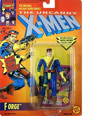 "Marvel 5"" Forge Action Figure with Quick Draw Action! Also Includes Official Marvel Universe Trading Card - The Uncanny X-Men at Sears.com"