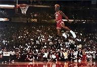 Michael Jordan Famous Foul Line Dunk…