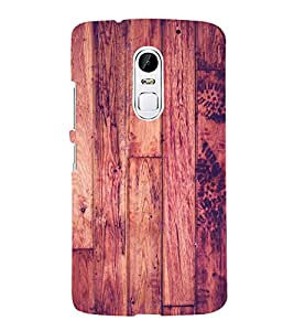 Polish Wood Pattern 3D Hard Polycarbonate Designer Back Case Cover for Lenovo Vibe X3