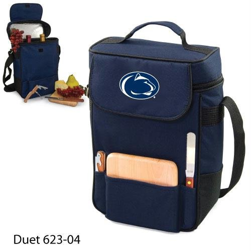 Ncaa Penn State Nittany Lions Duet Insulated Wine And Cheese Tote With Team Logo