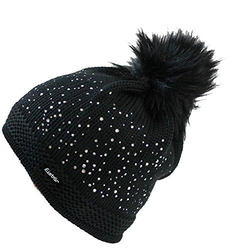 eisbar-mutze-gloria-lux-crystal-mit-swarovski-elementen-schwarz