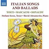 トスティ/マスカーニ/ドナウディ:イタリアの歌曲とバラード集