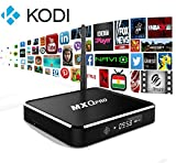 MXQ Pro T10 Andoroid TV Box  Stylish design    - Metal enclosure make the box look more stylish  Super Reliable   -OS: Android 4.4 Kitkat- the most stable OS out of the android boxes   -KODI media center-most relibale and stable media center....