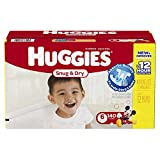 Huggies Snug and Dry Diapers, Size 6, Economy Plus Pack, 140 Count
