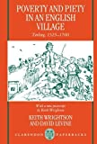 img - for Poverty and Piety in an English Village: Terling, 1525-1700 (Clarendon Paperbacks) Rev Sub Edition ( Paperback ) by Wrightson, Keith; Levine, David pulished by Oxford University Press, USA book / textbook / text book