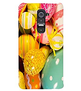 PRINTSWAG COLOURFUL THEMES Designer Back Cover Case for LG G2