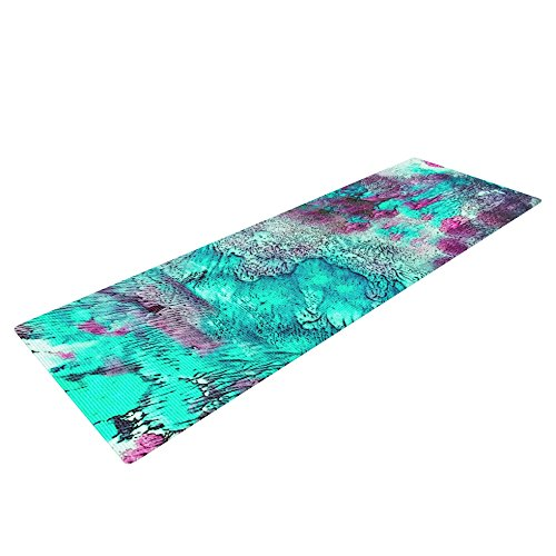 Kess Inhouse Sylvia Cook Yoga Exercise Mat Think Outside