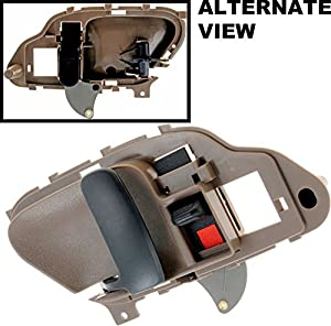Apdty 88681 Interior Door Handle Brown Front Or Rear Left Driver Side Fits 1999