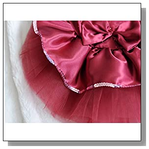 Hqclothingbox Dog Cute Dress Skirt Pet Dog Cat Princess Clothes Plus Size Dress