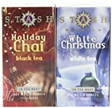 Stash Tea Company Holiday Chai & White Christmas Gift Set (Pack of 3)