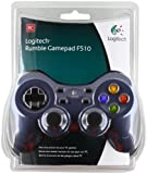 Logitech Rumble Gamepad F510 - game pad [Windows]