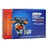 Gillette Back To Campus Special Pack: Gillette Fusion Proglide Manual Men's Razor With Flexball Handle Technology With 1 Razor Blade + Proglide Sensitive Shaving Gel 2.5 Oz + Gillette Hydrator Body Wash 8.4 Oz + Gillette Deodorant 4 Oz