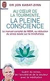 Au coeur de la tourmente, la pleine conscience : MBSR, la réduction du stress basée sur le mindfulness : programme complet en 8 semaines