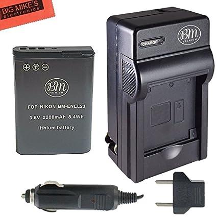 BM-Premium-EN-EL23-Battery-And-Charger-for-Nikon-Coolpix-P900,-P600,-P610,-S810c-Digital-Camera-+-More!!