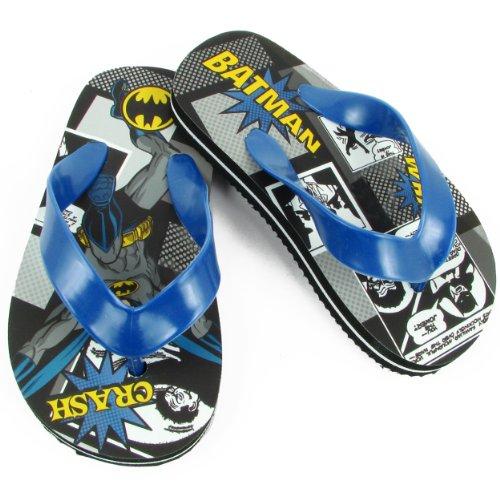 Dc Comics Batman Bms120 Flip Flop (Toddler/Little Kid),Multi,7 M Us Toddler front-906231