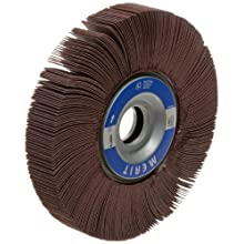 Merit Grind-O-Flex Abrasive Flap Wheel, 1&#034; Arbor, Ceramic Aluminum Oxide